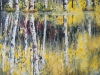 "Rhythm Reflections 36""x60"" - textured oil painting"