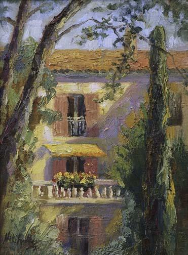 Morning Shadows, Provence