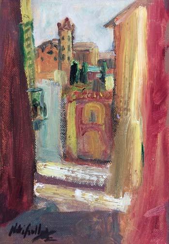 Hidden Passageway, Siena