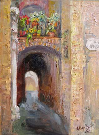 Tunnel of Light, Siena