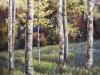 "Harmonic Hues 36""x36""- textured oil painting"