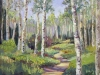 "Meandering Journey, Santa Fe - 16""x20""- textured oil painting"